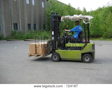 Truck With Pallet