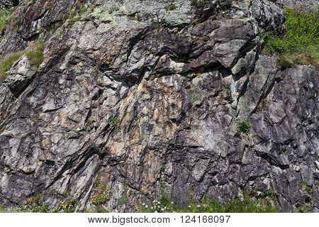 Mountain Limestone Rocks