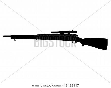 WW2 Series - American Mauser M1 903 Springfield Sniper Rifle poster
