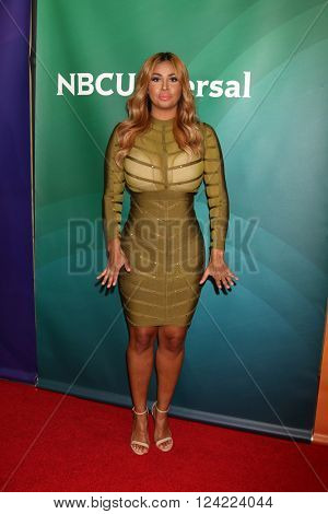 LOS ANGELES - APR 1:  Somaya Reece at the NBC Universal Summer Press Day 2016 at the Four Seasons Hotel on April 1, 2016 in Westlake Village, CA