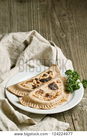 Tow Pies With Herbs