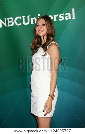 LOS ANGELES - APR 1:  Mia Serafino at the NBC Universal Summer Press Day 2016 at the Four Seasons Hotel on April 1, 2016 in Westlake Village, CA