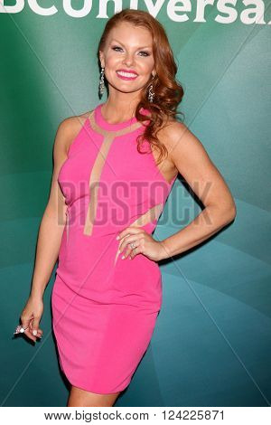 LOS ANGELES - APR 1:  Brandi Redmond at the NBC Universal Summer Press Day 2016 at the Four Seasons Hotel on April 1, 2016 in Westlake Village, CA