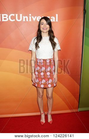 LOS ANGELES - APR 1:  Miranda Cosgrove at the NBC Universal Summer Press Day 2016 at the Four Seasons Hotel on April 1, 2016 in Westlake Village, CA