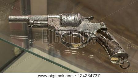 AZOV RUSSIA- AUGUST 29- Revolver