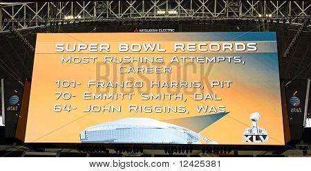 Cowboys Stadium Giant Scoreboard