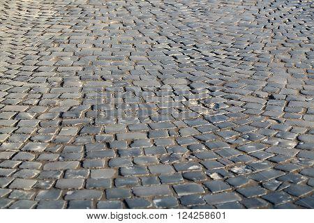 Slate Flag-stone Pavement