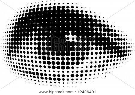vision of human eyes
