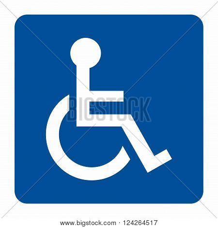 Disabled sign, access or service for disabled persons