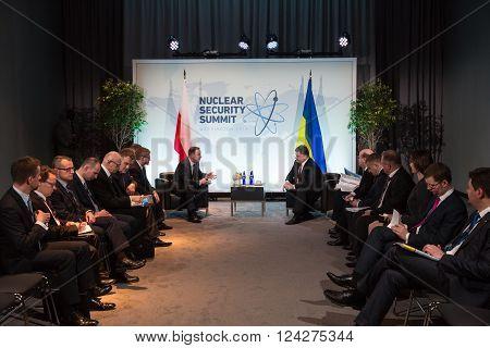 Nuclear Security Summit In Washington