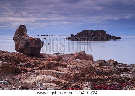 Seal bay, typical summer landscape of Westfjords, Iceland ** Note: Soft Focus at 100%, best at smaller sizes
