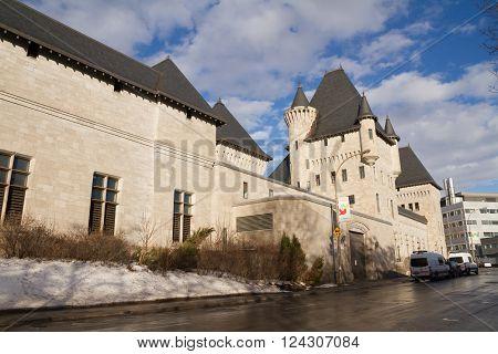 Classical University Building MCGill University Montreal, Canada