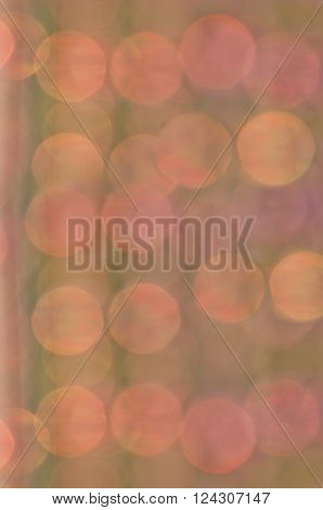 Soft dreamy pastel background with floating circles of  peach, pink and purple colors/Background of floating orb circles in soft peachy colors