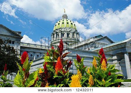 Pennsylvania Capitol - East View