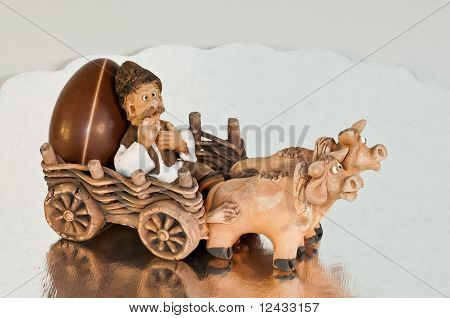 Chocolate egg delivery