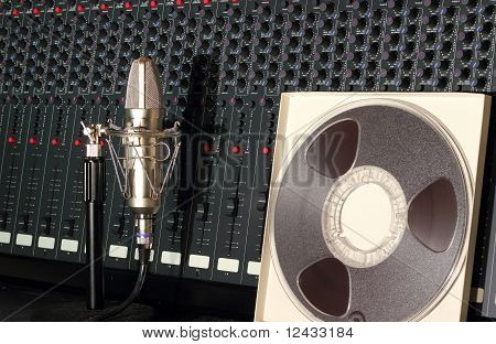 Recording studio mixer