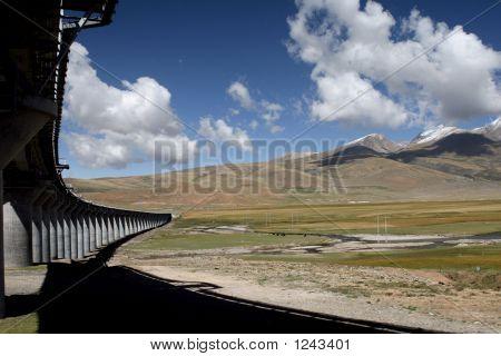 Railway In Plateau