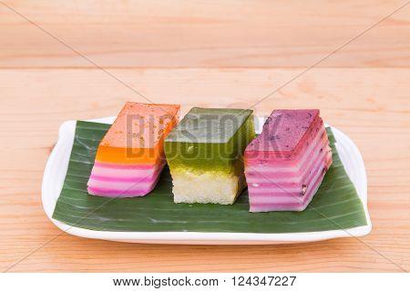 Malaysia Popular Assorted Sweet Dessert Or Known As Kuih Kueh