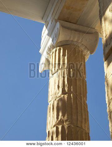 Ionian column capital