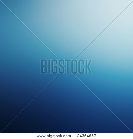 Blue background / abstract blue background of elegant dark blue vintage grunge background texture black on border with lights
