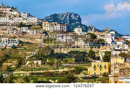 View of Scala village from Ravello - Italy