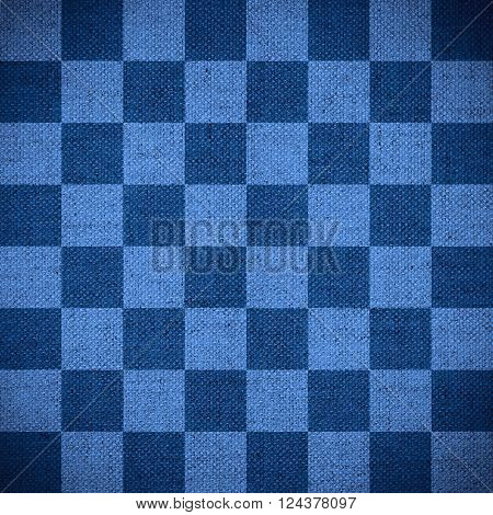 chequered pattern texture or blue chessboard background check