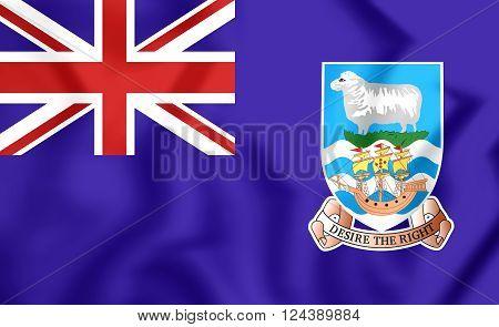 Flag Of Falkland Islands