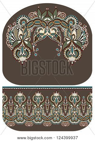 pattern of purse money design, you can print on fabric to do some sewing a wallet or handbag, vector illustration