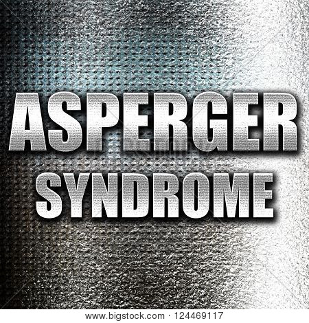 Grunge metal Asperger syndrome background with some soft smooth lines
