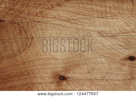 Closeup of wooden board texture