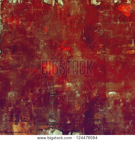 Abstract grunge weathered background of vintage texture. With different color patterns: brown; red (orange); purple (violet); pink