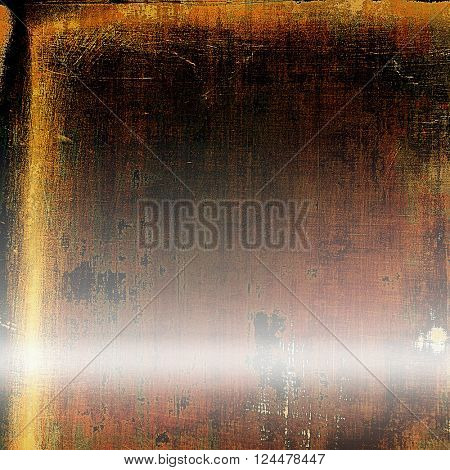 Retro vintage style background or faded texture with different color patterns: yellow (beige); brown; red (orange); pink; black