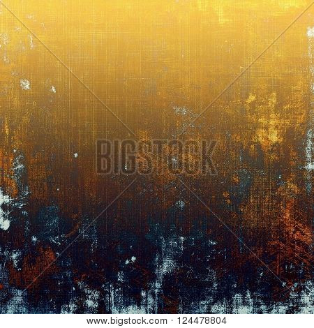 Creative vintage surface texture, close up grunge background composition. With different color patterns: yellow (beige); brown; blue; cyan