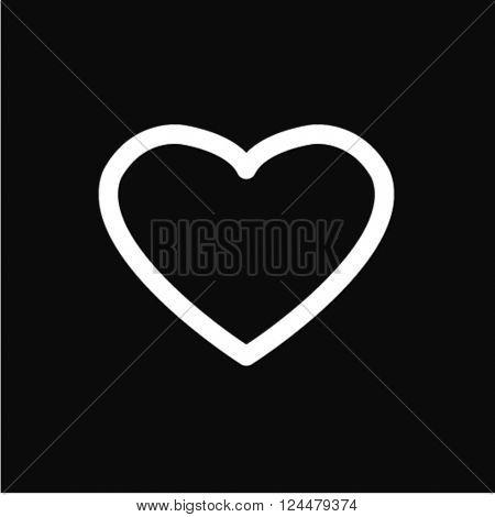 line heart icon
