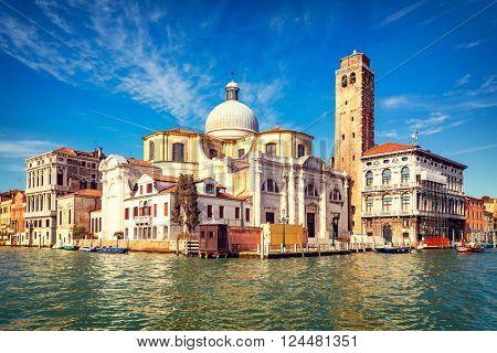 Venice at sunny day, Italy