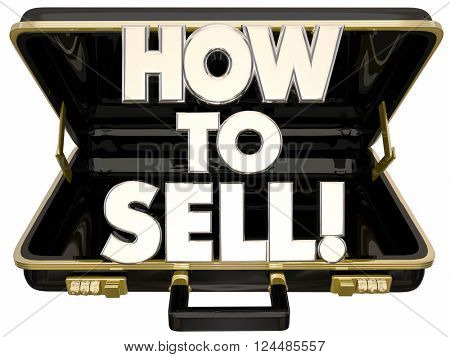 How to Sell 3d Words Briefcase Learn Sales Advice Tips