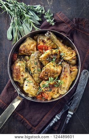 Lemon Chicken in Casserole
