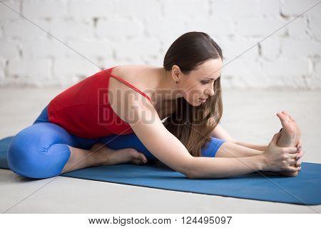 Yoga Indoors: Janu Sirsasana Pose