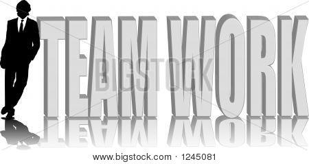 Man Lean Team Work