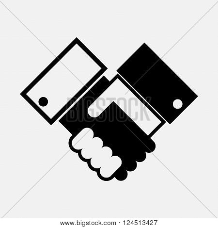Handshake of businessmen. Conclusion of the contract. Contract. Covenant. Friendship.