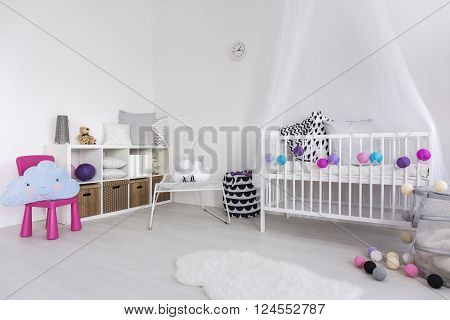 Cosy Bedroom For A Little Princess