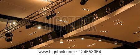 Lights In Lecture Hall