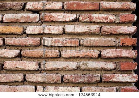 Old Brick Wall In Old Tbilisi,georgia