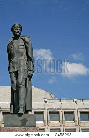 St. Petersburg, Russia - July 18, 2009: Monument To Felix Dzerzhinsky On Shpalernaya Street