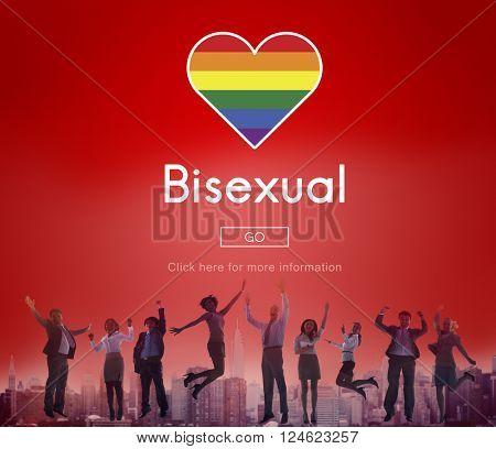 Transgender Bisexual Homosexusl Personal Right Concept
