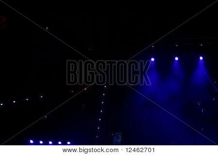 lights in night