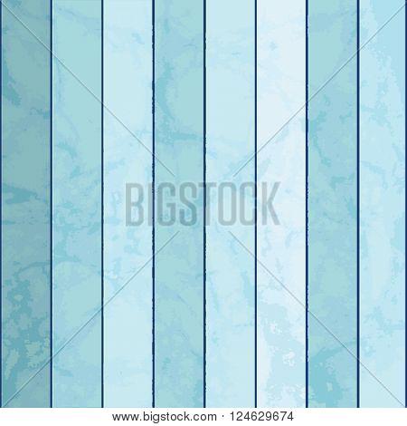Blue wooden  planks