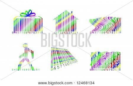 Rainbow barcodes