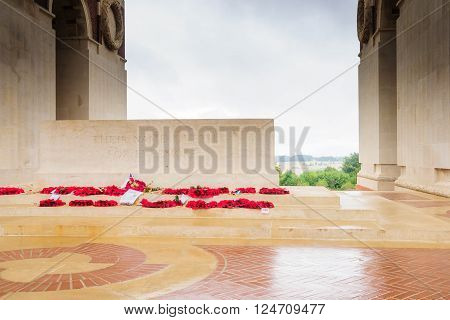 The Memorial Of Thiepval