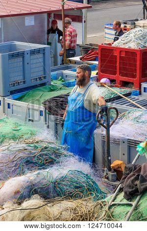 Saint-valery-en-caux Fishing Port